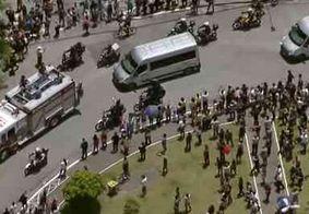 Grupo é detido por furto de celulares no enterro de Gugu Liberato, em SP