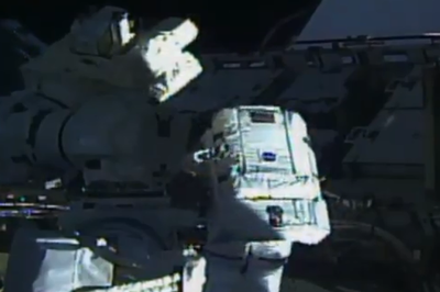 Primeira caminhada espacial 100% feminina é registrada