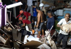 Explosão causa desabamento de imóvel e mata quatro mulheres em Natal