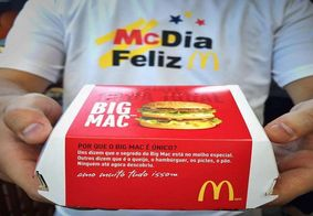 Renda gerada com as vendas de sanduíches Big Mac em todos os restaurantes McDonald's será revertida.