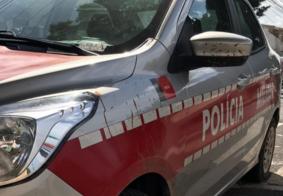 Viatura da Polícia Militar da Paraíba.
