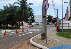 Rua Severino Nicolau de Melo, no Jardim Oceania
