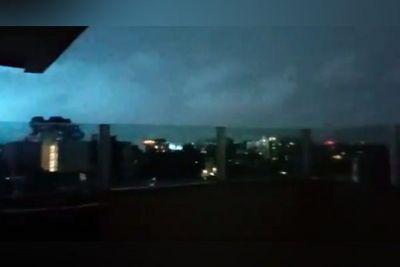 Vídeo   Fenômeno raro é observado durante o terremoto no México