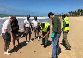 Fragmentos de óleo são encontrados no litoral do Nordeste