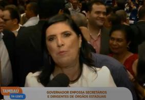 """Vice-governadora aposta em """"união"""" para gestão de João Azevêdo"""