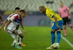 """Neymar exalta postura do Brasil diante do Chile: """"Conseguimos suportar"""""""