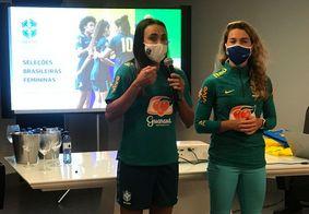"""Marta agradece à PB após amistosos no estado: """"Um estado apaixonado por futebol"""""""