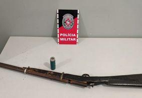 Polícia Militar prende suspeitos e apreende armas de fogo em várias cidades da PB