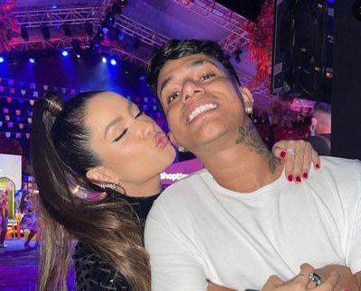 Juliette Freire e Alê Oliveira