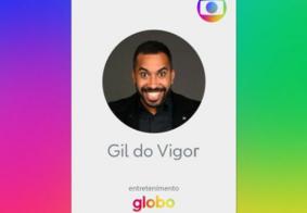 Nas redes sociais, Globo anuncia contratação de Gil do Vigor