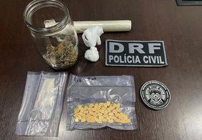 Homem é preso no momento em que recebia drogas pelos Correios na PB