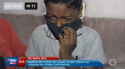 Pedro Silva, de 9 anos