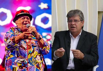 """Governador da Paraíba lamenta morte de Genival Lacerda: """"Símbolo da cultura"""""""