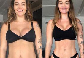 Laura Keller conta como perdeu 16 quilos seis meses após do parto