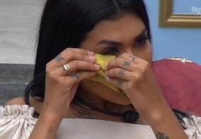 Pocah chorou ao lembrar do voto em Gil