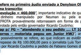 Além de Fabiano Gomes, jornalista é citado em esquema de desvio
