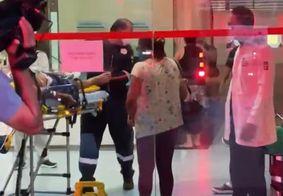 Suspeitos foram encaminhados ao Hospital de Emergência e Trauma