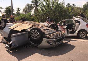 Homem morre e sete pessoas ficam feridas em acidente na BR-230