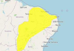 Inmet prevê chuvas intensas para 98 cidades da Paraíba; Confira
