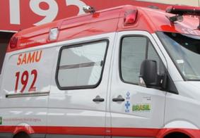 Imagem de Arquivo da ambulância do SAMU