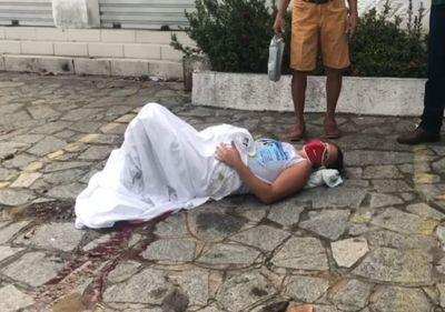 Bebê nasce em calçada a caminho do hospital em João Pessoa