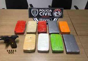 Dois homens são presos com 9 kg de cocaína durante operação da polícia em João Pessoa