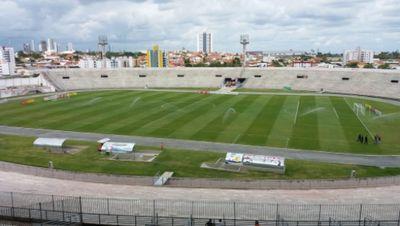 Estádio Amigão, que recebeu o jogo do Campinense, neste fim de semana