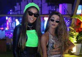 Ludmilla curte Rock In Rio com namorada