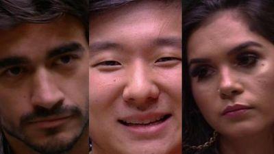 Enquete mostra quem sai do BBB20 entre Guilherme, Pyong e Gizelly; veja