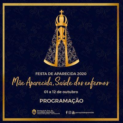 Arquidiocese da PB divulga programação do Dia de Nossa Senhora Aparecida; confira