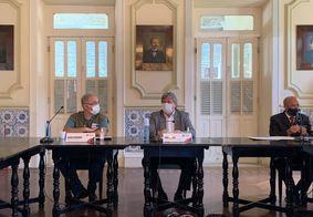 João Azevêdo e Marcelo Queiroga discutem ações contra pandemia