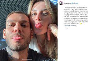 Lucas Lucco desabafa no Instagram após internação da esposa