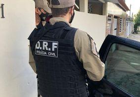 Prisão do suspeito foi realizada em Gramame, na capital paraibana