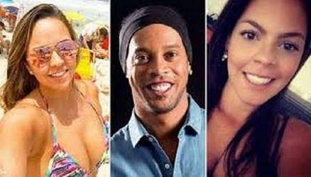 Priscilla, Ronaldinho e Beatriz