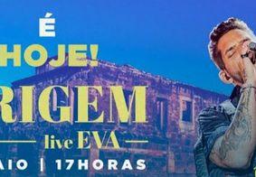 """Ao vivo: acompanhe a Live """"Origem"""" da Banda Eva"""