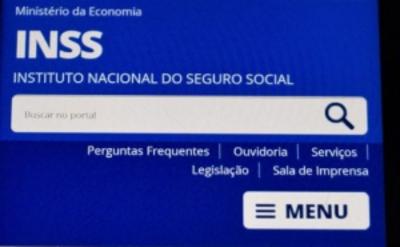 Capa do site Meu INSS