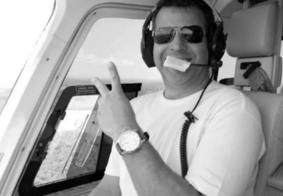 Corpo do piloto de helicóptero que levava Boechat é enterrado