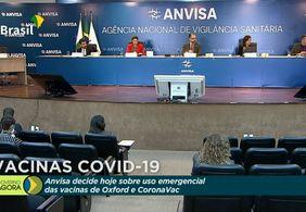 Anvisa decide hoje (17) sobre o uso emergencial de vacinas contra Covid-19; Veja