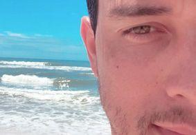 Namorado de Gugu publica foto tirada ao lado do apresentador e se declara; veja