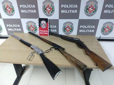 Material apreendido foi encaminhado à Central de Polícia, no bairro do Geisel