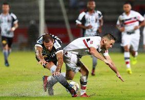 Botafogo leva gol no apagar das luzes e fica no empate com o Santa Cruz