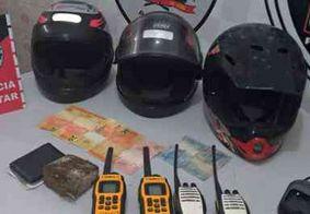 Operação apreende rádios comunicadores que eram usados por traficantes de drogas em Rio Tinto