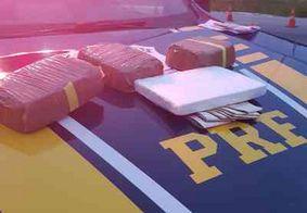 Homens são detidos com drogas escondidas na porta de veículo, em Mamanguape