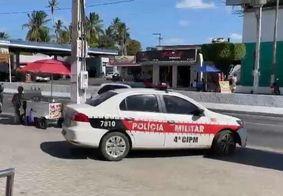 Dupla armada rende funcionários e assalta loja na Grande João Pessoa