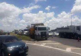 Grande congestionamento é registrado na 'entrada' de João Pessoa; saiba o motivo