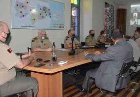 Reunião define últimos ajustes para esquema de policiamento durante as Eleições 2020 na PB