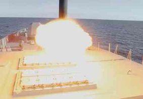 Rússia testa com sucesso novo míssil hipersônico