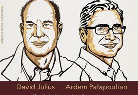 David Julius e Ardem Patapoutian foram reconhecidos pelo prêmio