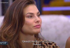 No Big Brother Itália, brasileira acompanha velório do irmão por vídeo