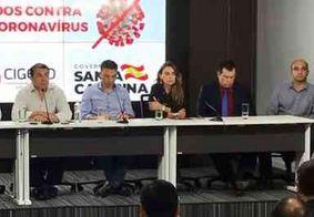 Governo de Santa Catarina suspende transporte coletivo; PM fiscaliza cumprimento de decreto